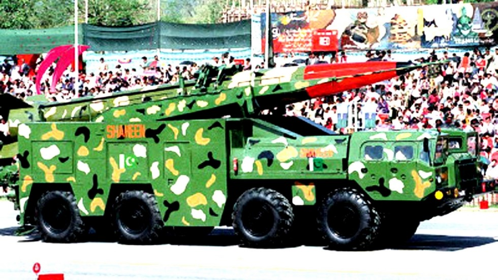 Пакистанская ракета Shaheen-1 на доработанном шасси МАЗ-543А (из архива СКБ-1 МАЗ)