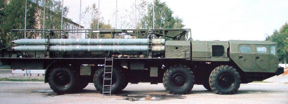 Заряжающая машина 9Т234-2 с запасом из 12 снарядов (из проспекта «Росвооружение»)