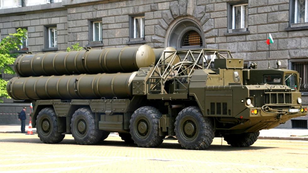Экспортная зенитная система 5П85СЕ комплекса С-300ПМУ-1 в болгарской армии