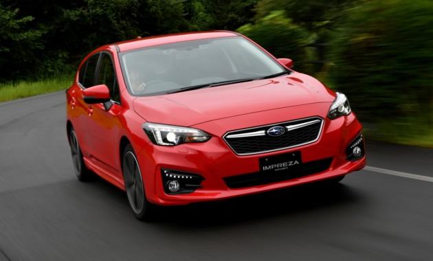 Новая Subaru Impreza востребована наяпонском рынке