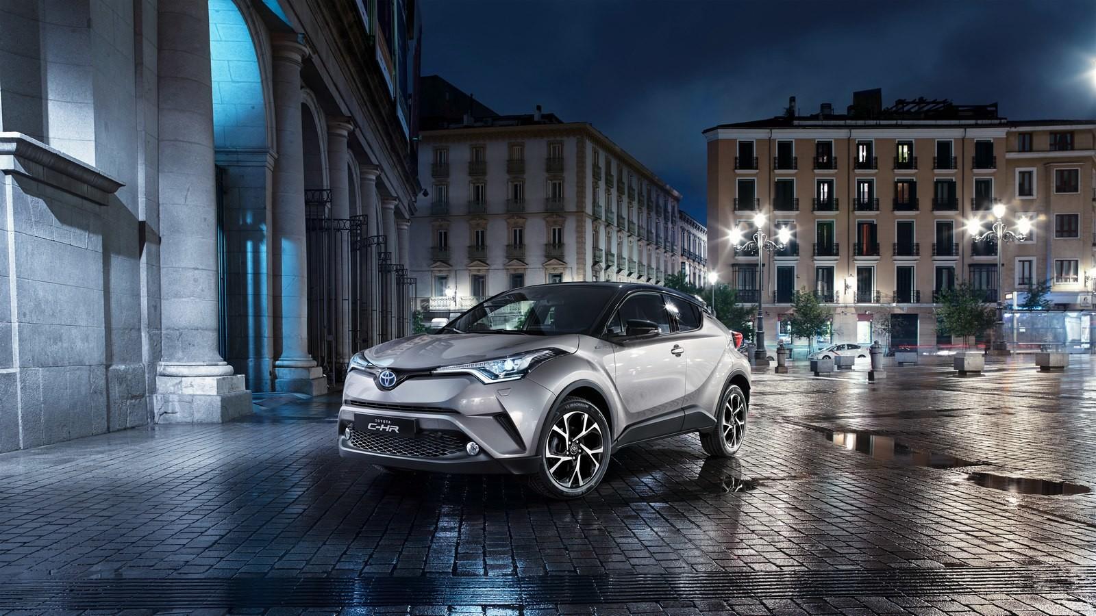 Тойота озвучила стоимость кроссовера C-HR на рынке Британии