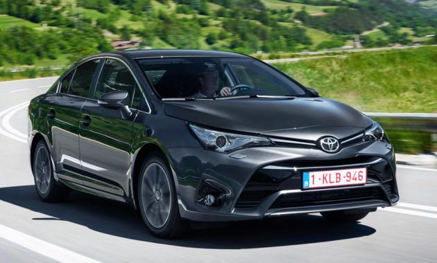 Тойота может отказаться от последующего выпуска седана Avensis