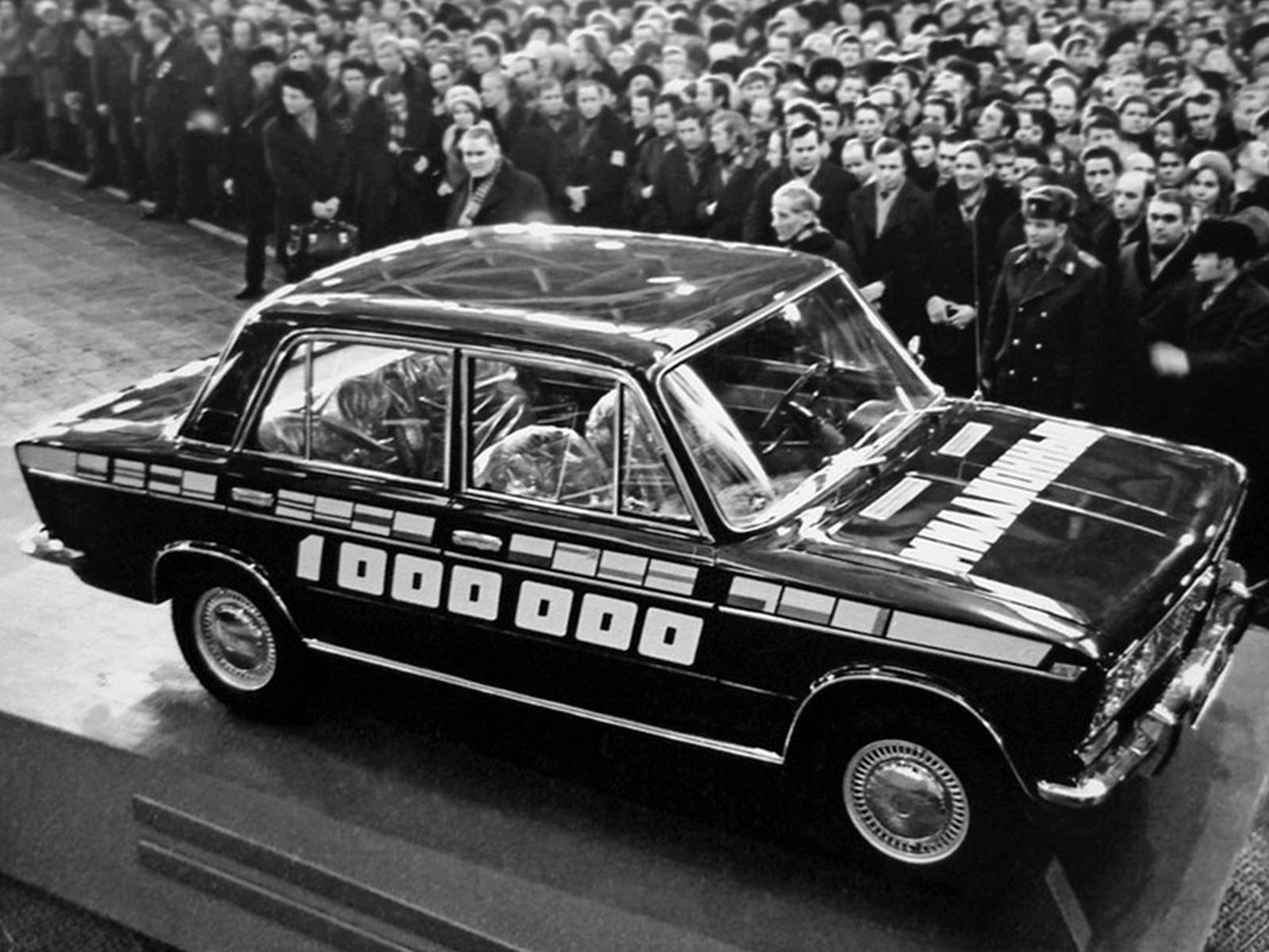 первый автомобиль ваза фото