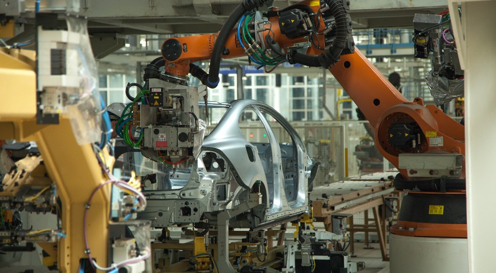 The Volvo Cars manufacturing plant in Chengdu