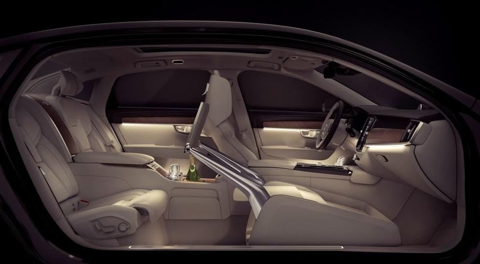 Вольво показала чудный седан S90 Excellence
