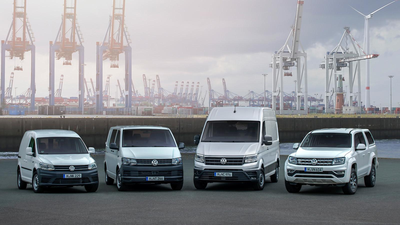 Ксередине осени продажи LCV от Фольксваген увеличились практически на40 процентов