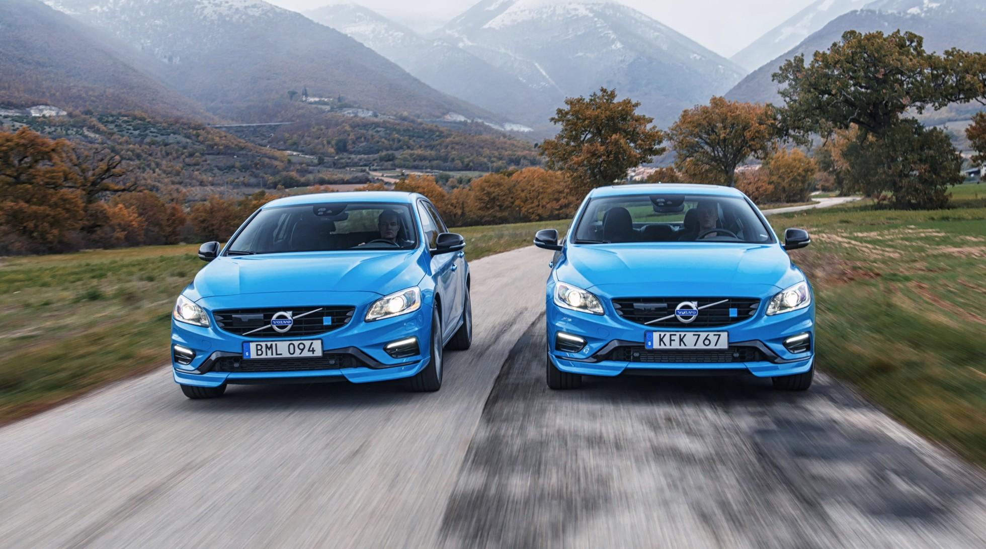 Налосанджелесском автосалоне представлены «заряженные» Volvo S60, атакже V60