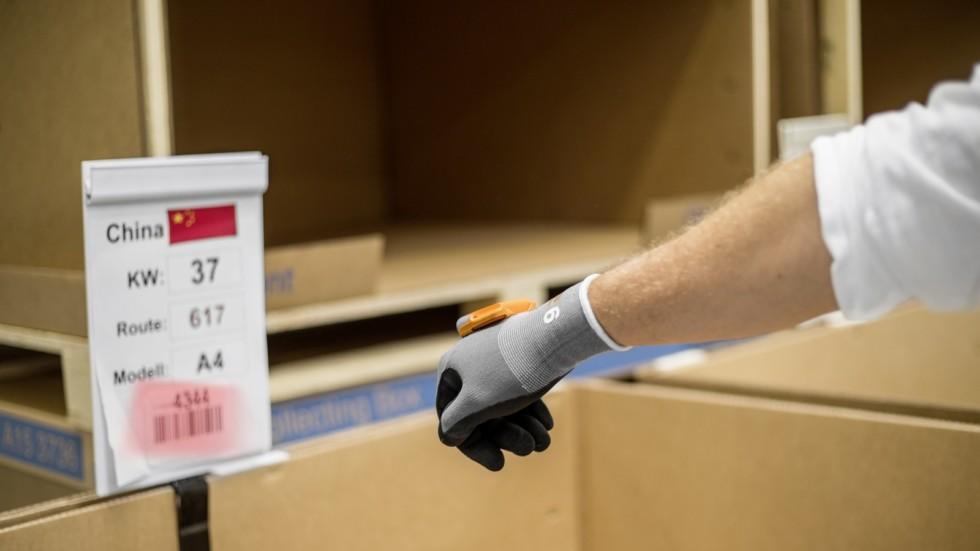 "Use of ""ProGlove"" scanner at Ingolstadt site"