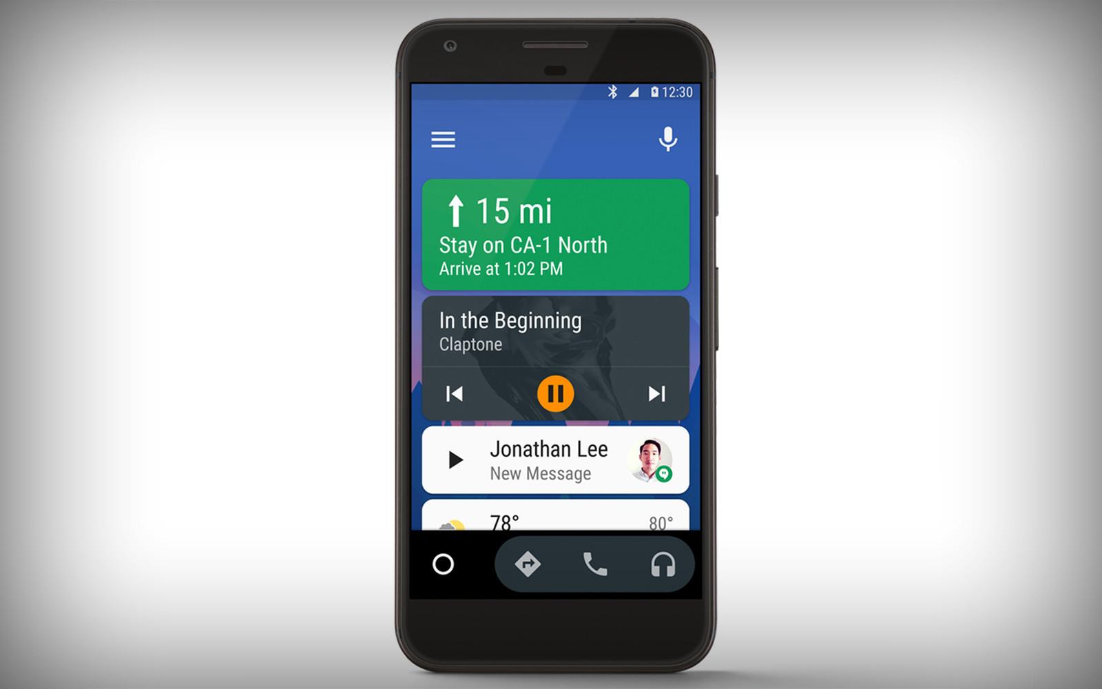 Функциональность андроид Auto сейчас доступна всем автолюбителям со телефонами