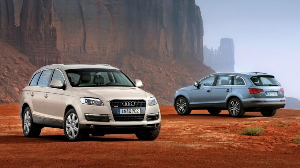 На фото: Audi Q7 (4L) '2005–09