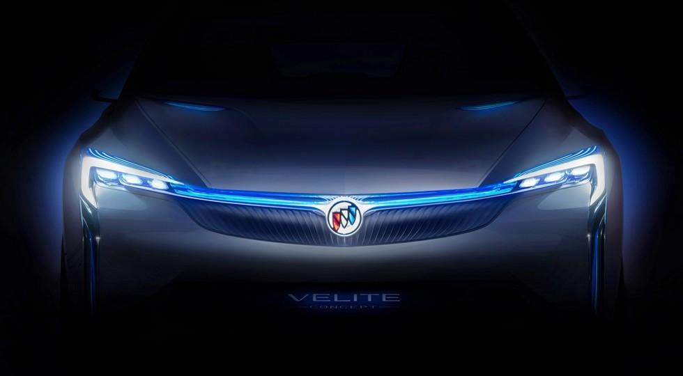 Компания Buick интригует новым концептом Velite Concept