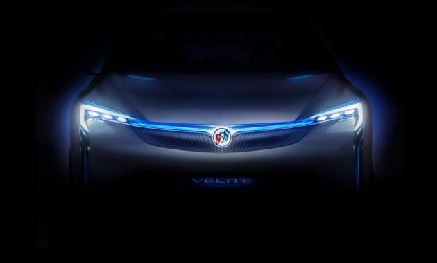 Перелицованный Шевроле Volt: фотографы засняли Buick Velite