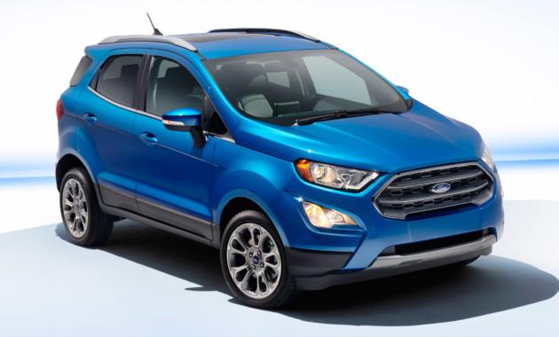 ВЛос-Анджелесе Форд официально показал обновлённый кроссовер EcoSport