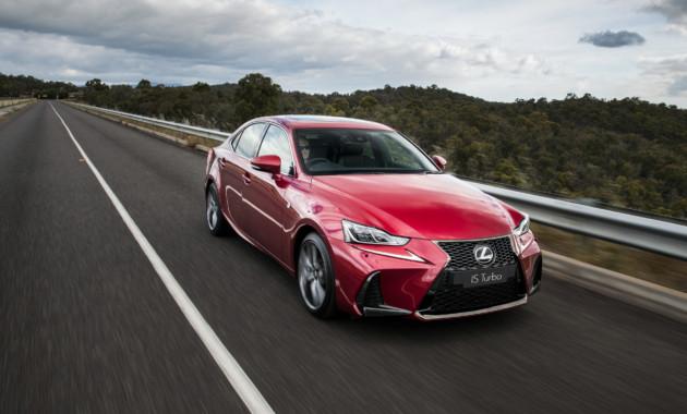 Lexus выкатила фейслифтинговый седан IS на австралийский рынок