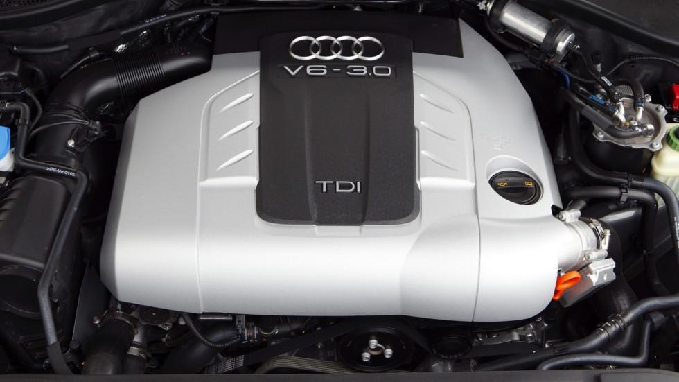 На фото: Под капотом Audi Q7 3.0 TDI quattro (4L) '2006–09