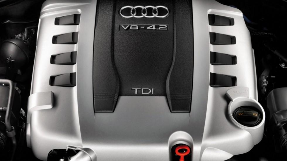 На фото: Под капотом Audi Q7 4.2 TDI '2007–09