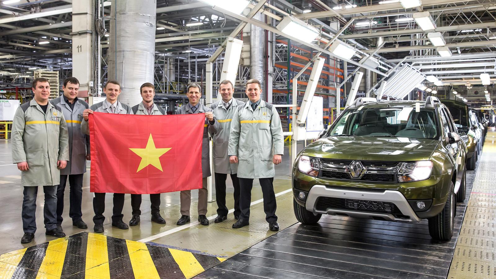 Рено начал поставки авто русской сборки воВьетнам