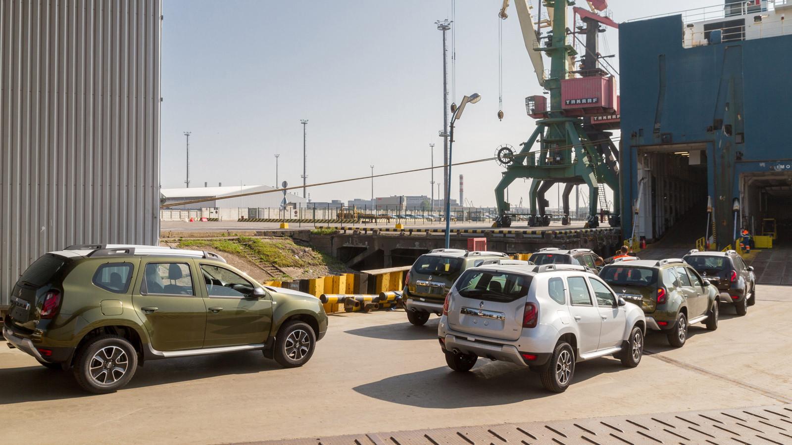 «Рено Россия» начала экспорт машин воВьетнам врамках соглашения оЗСТ