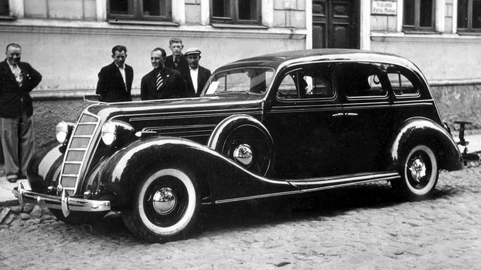 На фото: ЗиС-101 '1936–39