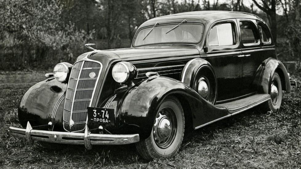 На фото: ЗиС-101 Предсерийный '1936