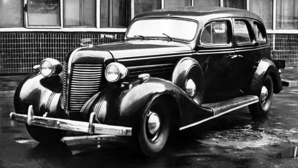 На фото: ЗиС-101А '1940–41