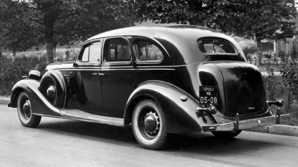 На фото: ЗиС-101Б Опытный '1941