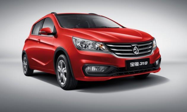ВКитайской республике растут продажи бюджетного хэтчбека Baojun 310
