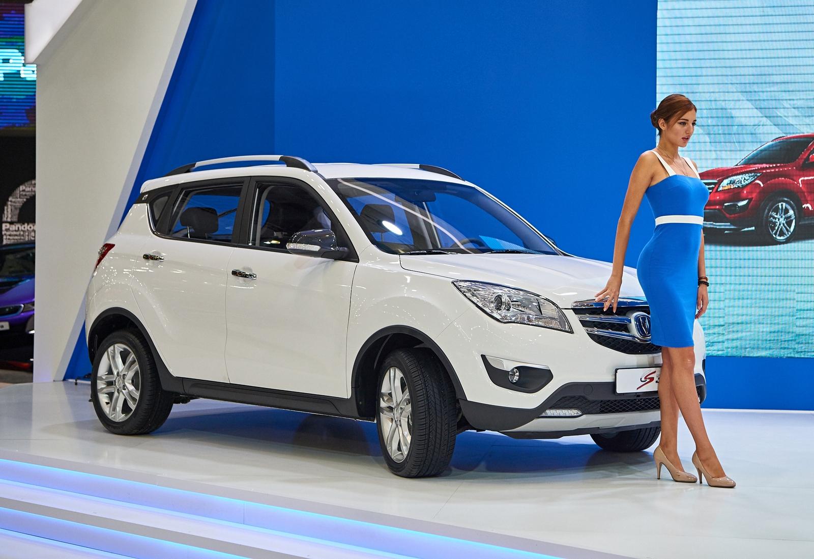Модели китайских автомобилей в россии фото