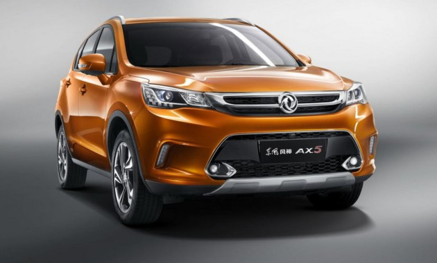 Китайский Dongfeng официально презентовал новый кроссовер AX5 class=