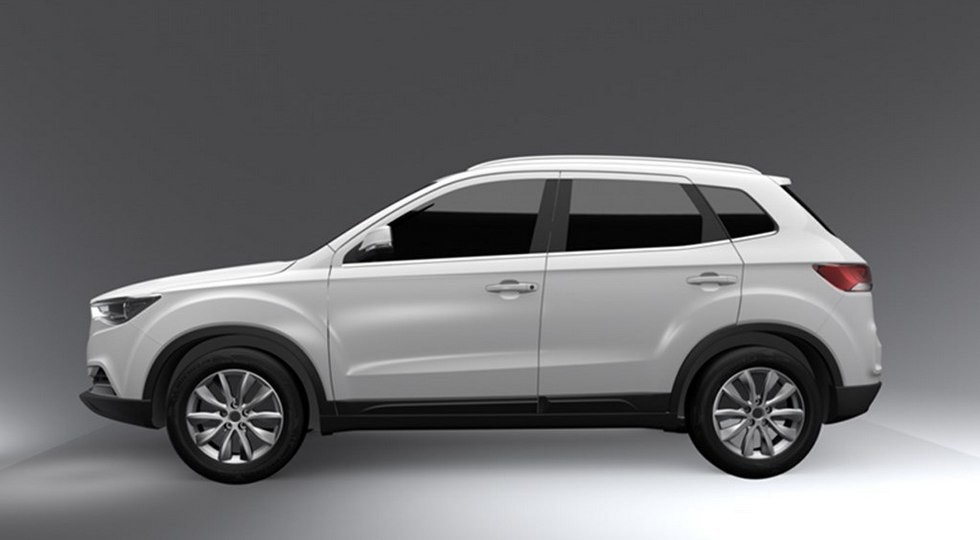 Новый вариант авто компании FAW X40 покажут 18ноября