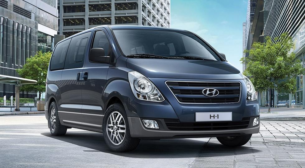 На фото: Hyundai H-1, актуальная версия для России