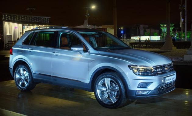 Новый Volkswagen Tiguan доступен для всех россиян