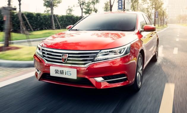 В КНР презентовали седан SAIC Roewe i6