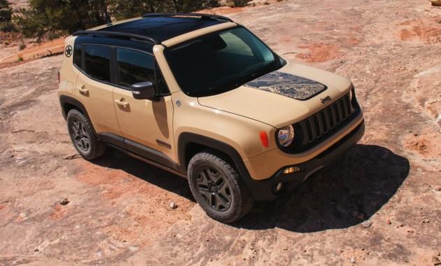 Jeep анонсировал две спецверсии для Renegade