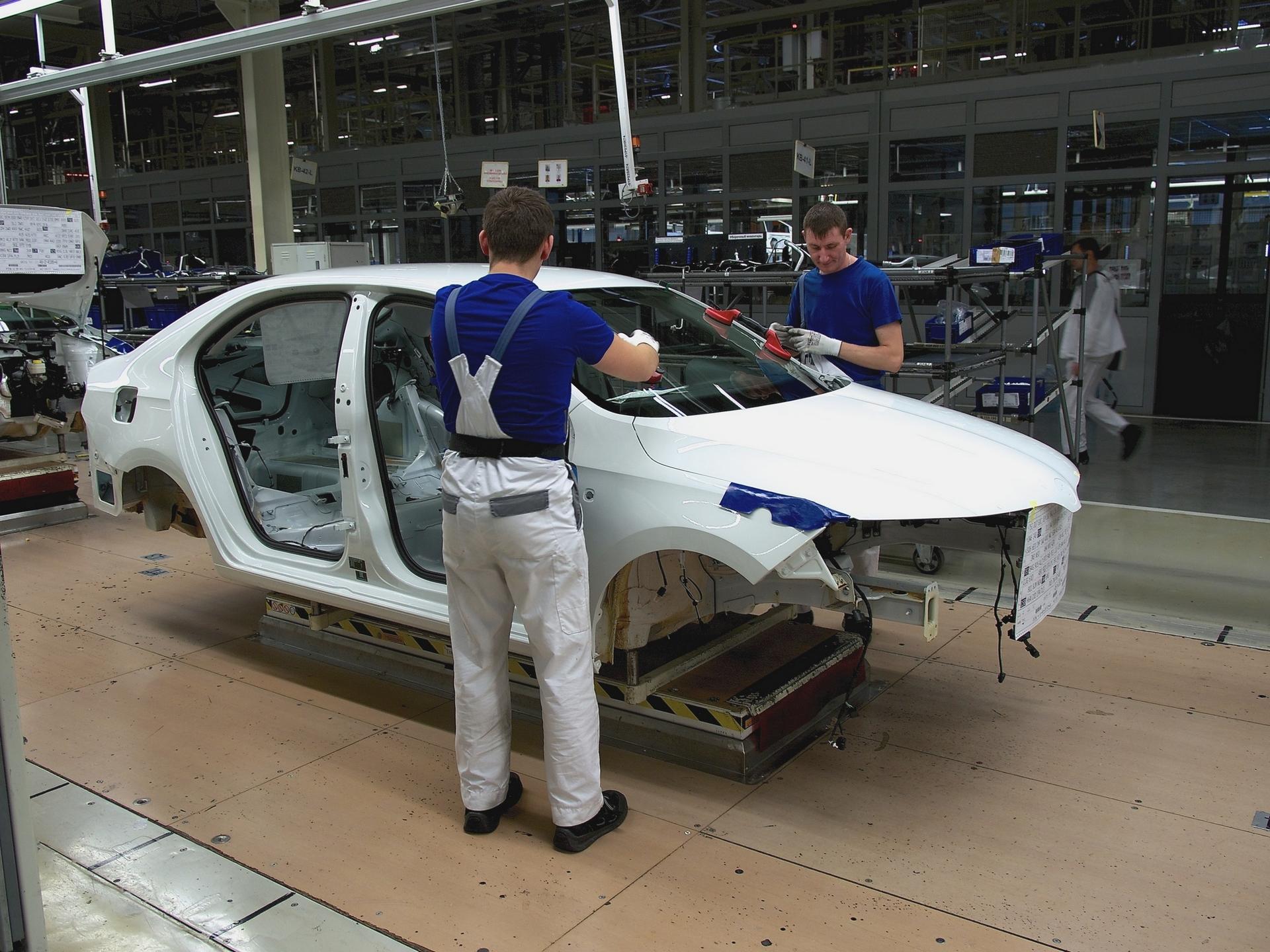 калужский завод по сборке автомобилей skoda видео