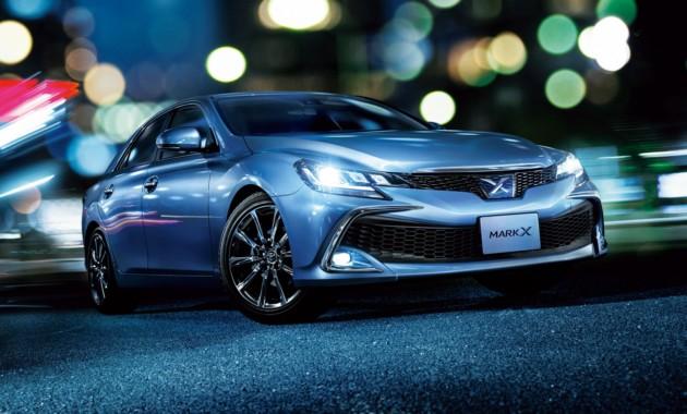 Компания Тойота обновила седан Mark X