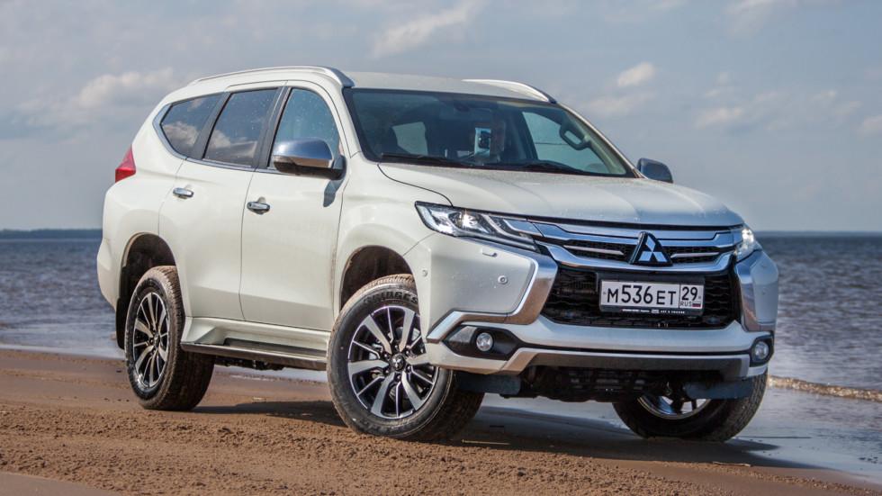 На фото: Mitsubishi Pajero Sport New