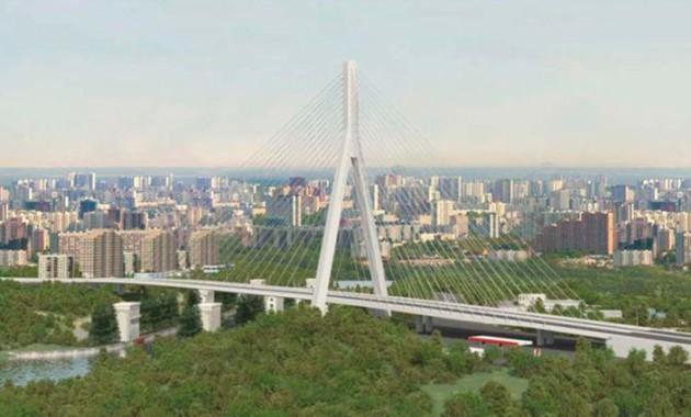 В столице появится очередной вантовый мост