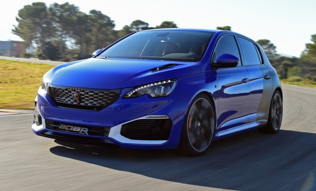 Peugeot (Пежо) готовит квыпуску гибридный хэтчбек 308 R