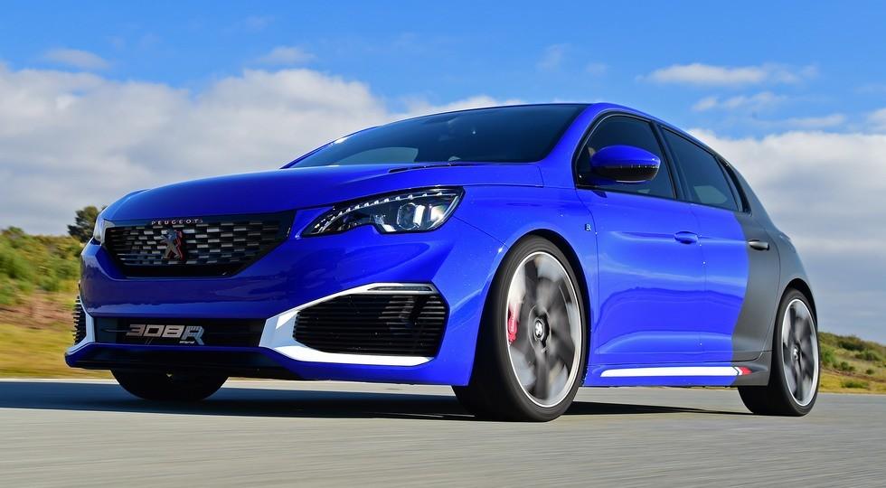 Peugeot (Пежо) готовит квыпуску гибридный хэтчбек 308 R class=