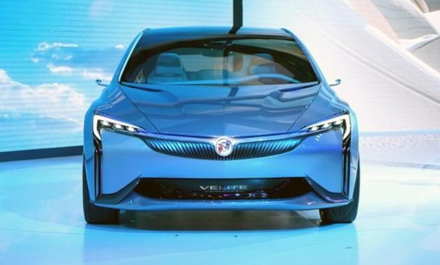ВГуанчжоу презентовали гибридный концептуальный автомобиль Buick Velite