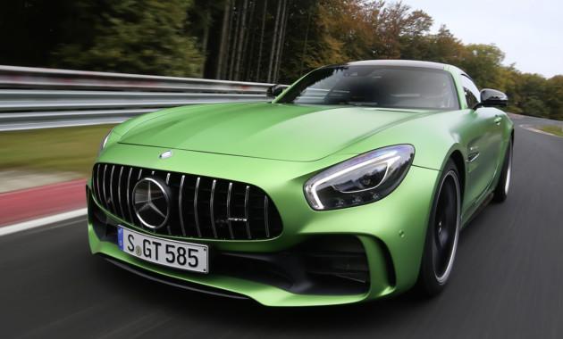 Купе Mercedes-AMG GT R проверили «Зелёным адом»