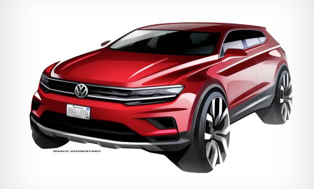 В КНР представили VW Tiguan