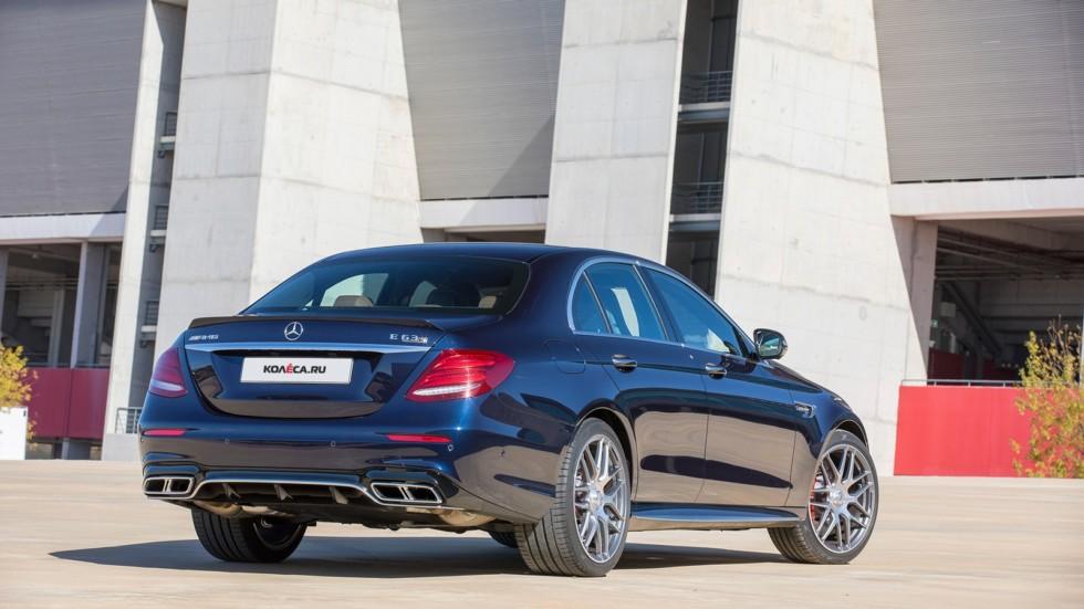 Presse Fahrvorstellung Der neue Mercedes-AMG E 63 4MATIC+ Portimão 2016 Press Test Drive Mercedes-AMG E 63 Portimao 2016