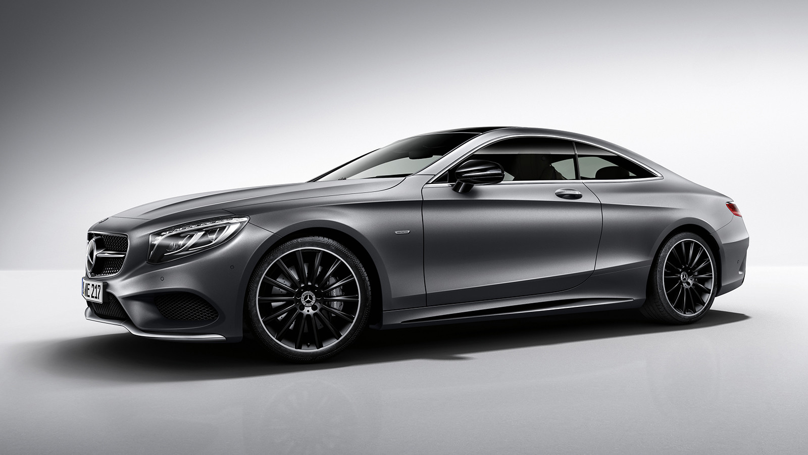 Купе Mercedes S-Class получило «ночную» версию