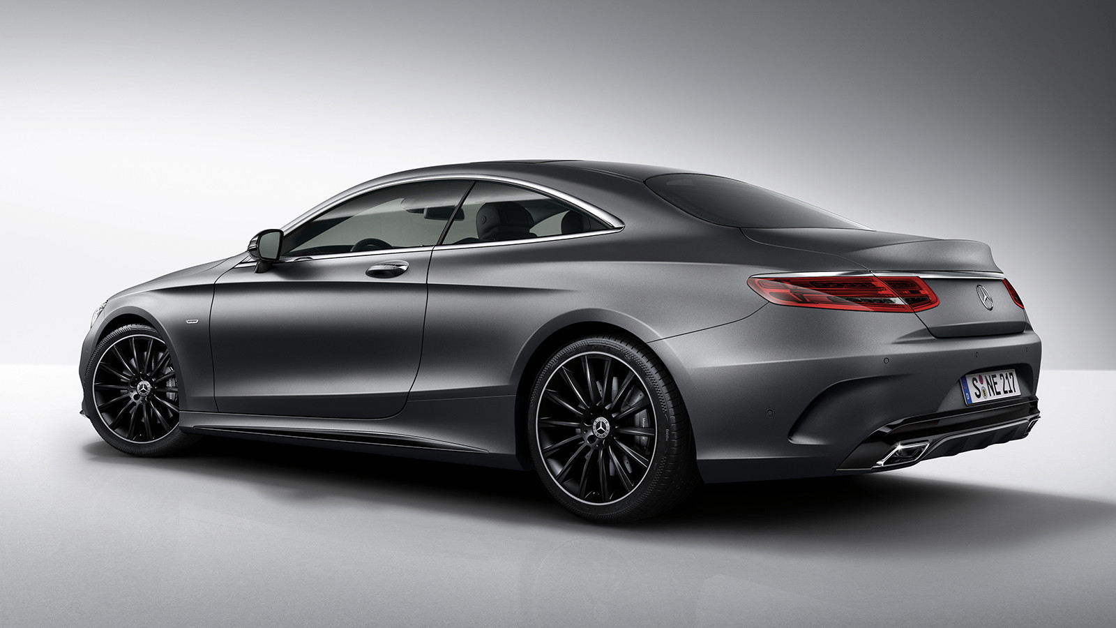 Benz S-Class Coupe Night Edition представлен официально