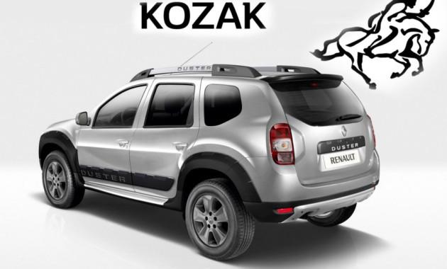 Укроссовера Рэно Duster возникла обновленная версия - «Kozak»