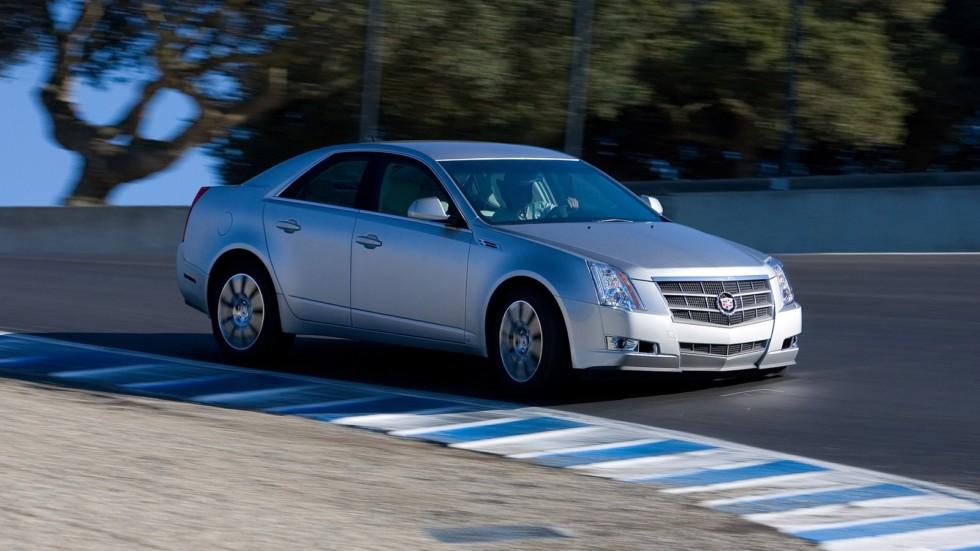 На фото: 2008–11 Cadillac CTS '2007–11