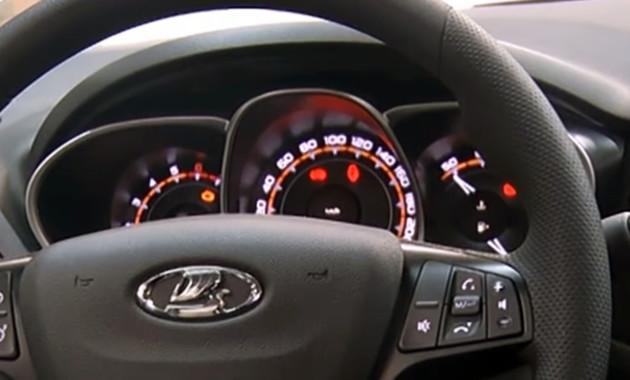 Lada Vesta получила новую приборную панель