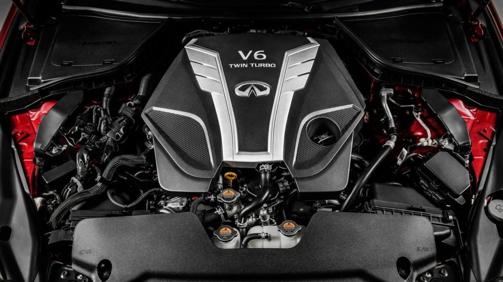 Твинтурбо V6 под капотом Infiniti Q50 2016